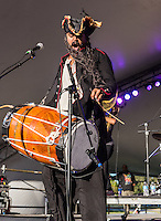 Red Baraat performs at the 2014 Voodoo Music Experience in New Orleans, LA.