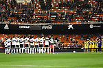 Valencia's players  during Spain King Cup match. December 16, 2015. (ALTERPHOTOS/Javier Comos)