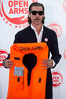 Oscar Jaenada attends to solidary encounter to raise funds for Open Arms Foundation in Madrid, Spain. May 31, 2018. (ALTERPHOTOS/Borja B.Hojas) NortePhoto.com