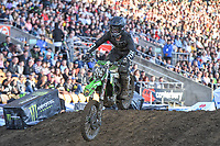 Ethan Martens (NZ)<br /> 2018 SX Open - Auckland / SX 2<br /> FIM Oceania Supercross Championships<br /> Mt Smart Stadium / Auckland NZ<br /> Saturday Nov 24th 2018<br /> © Sport the library/ Jeff Crow / AME