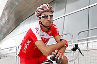 David Moncoutie before the stage of La Vuelta 2012 beetwen Santander-Fuente De.September 5,2012. (ALTERPHOTOS/Acero) /NortePhoto.com<br /> <br /> **CREDITO*OBLIGATORIO** *No*Venta*A*Terceros*<br /> *No*Sale*So*third* ***No*Se*Permite*Hacer Archivo***No*Sale*So*third