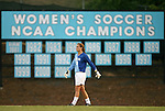 07 September 2007: North Carolina's Ashlyn Harris. The University of North Carolina Tar Heels defeated the Texas A&M University Aggies 2-1 at Fetzer Field in Chapel Hill, North Carolina in an NCAA Division I Women's Soccer game, and part of the annual Nike Carolina Classic tournament.