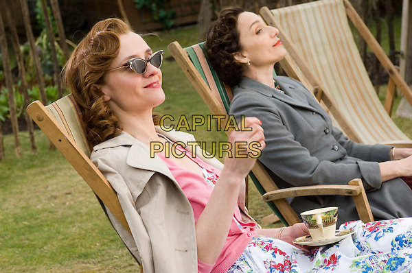 Anne Marie Duff & Kristin Scott Thomas.in Nowhere Boy .*Filmstill - Editorial Use Only*.CAP/PLF.Supplied by Capital Pictures.