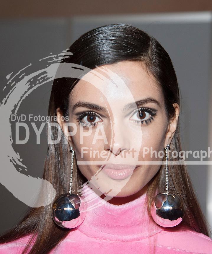Spanish Model Joana Sanz portrait at MBFW Madrid´s Backstage