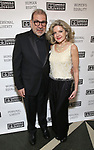 Steven Pavlakis and Alison Fraser attends the Gingold Theatrical Group's Golden Shamrock Gala at 3 West Club on March 16, 2019 in New York City.
