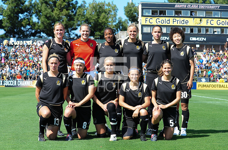 FC Gold starting eleven team. The Los Angeles Sol defeated FC Gold Pride, 2-0, at Buck Shaw Stadium in Santa Clara, CA on May 24, 2009.