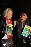 "Maura West - As The World Turns' ""Carly"" and Young and Restless  and ATWT Colleen Zenk as they went to see the musical on November 21, 2012 at the Lunt-Fontaine Theatre, New York City, New York.  (Photo by Sue Coflin/Max Photos)"