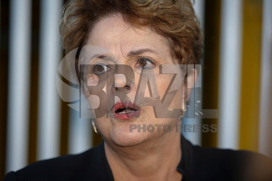 CURITIBA, PR, 31.05.2018 – LULA-PR – A ex-presidente Dilma Rousseff deixa à sede da Policia Federal em Curitiba (PR) após visitar o ex-presidente Lula na tarde de quinta-feira (31). (Foto: Paulo Lisboa / Brazil Photo Press)