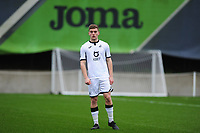 Cameron Evans of Swansea City u23s' during the Premier League 2 Division Two match between Swansea City u23s and Middlesbrough u23s at Swansea City AFC Training Academy  in Swansea, Wales, UK. Monday 13 January 2020.