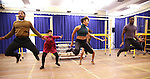 """Ariana Debose and cast during the open press rehearsal for """"A Bronx Tale - The New Musical""""  at the New 42nd Street Studios on October 21, 2016 in New York City."""