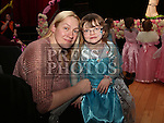 Canielle and Tracey Dooley at the Princess Ball in the Barbican.<br /> <br /> Photo - Jenny Matthews