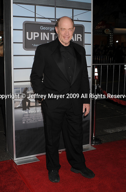 """WESTWOOD, CA. - November 30: J.K. Simmons arrives at the """"Up In The Air"""" Los Angeles Premiere at Mann Village Theatre on November 30, 2009 in Westwood, California."""