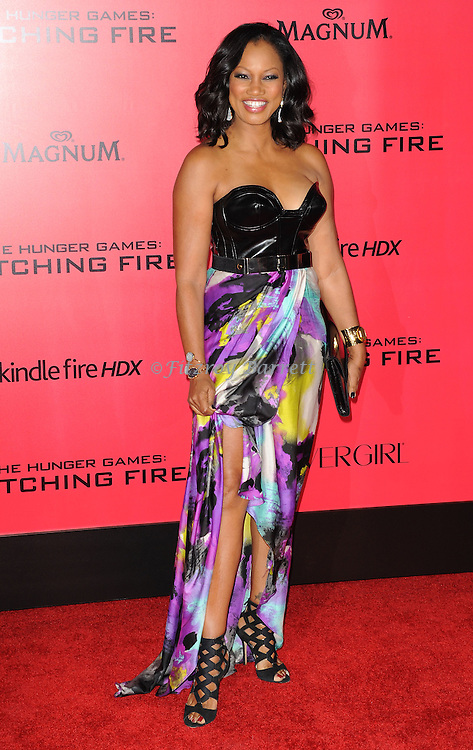 Garcelle Beauvais arriving to 'The Hunger Game Catching Fire Premiere', Los Angeles, Ca. November 18, 2013.