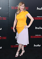 """HOLLYWOOD, CA - APRIL 19:  Maggie Phillips at the premiere Of Hulu's """"The Handmaid's Tale"""" Season 2 at TCL Chinese Theatre on April 19, 2018 in Hollywood, California. (Photo by Scott KirklandPictureGroup)"""