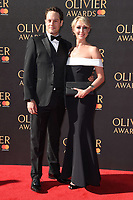 Ali Bastian &amp; David O'Mahony at The Olivier Awards 2017 at the Royal Albert Hall, London, UK. <br /> 09 April  2017<br /> Picture: Steve Vas/Featureflash/SilverHub 0208 004 5359 sales@silverhubmedia.com