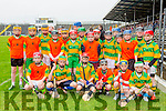 The South Kerry u13 development team that played an exhibition match  during their Kerry and Limerick's  NHL Div 1B clash in Fitzgerald Stadium on Sunday