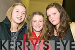 SYLISH: Students at the the Intermediate School, Killorglin fashion show on Thursday last, l-r: Sophie Stephens, Louise Langston, Niamh Arthurs.