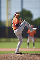 Houston Astros pitcher Julio Robaina (36) during a Minor League Spring Training Intrasquad game on March 28, 2019 at the FITTEAM Ballpark of the Palm Beaches in West Palm Beach, Florida.  (Mike Janes/Four Seam Images)