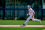 21 February 2019: Washington Nationals infielder Jake Noll runs bases during a Spring Training workout at the Ballpark of the Palm Beaches in West Palm Beach, Florida. Mandatory Credit: Ed Wolfstein Photo *** RAW (NEF) Image File Available ***