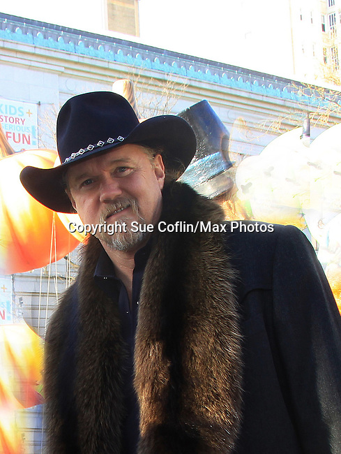 Country Singer Trace Atkins participates at the 86th Annual Macy's Thanksgiving Day Parade on November 22, 2012 in New York City, New York. (Photo by Sue Coflin/Max Photos)