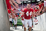 September 19, 2009: Wisconsin Badgers linebacker Chris Borland (44) walks up the tunnel after an NCAA football game against the Wofford Terriers at Camp Randall Stadium on September 19, 2009 in Madison, Wisconsin. The Badgers won 44-14. (Photo by David Stluka)