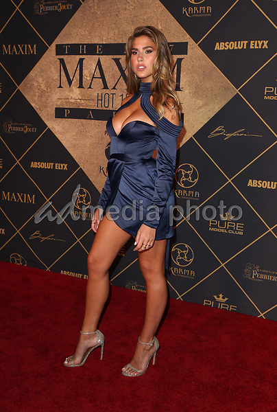 25 June 2017 - Hollywood, California - Abigail Ratchford. 2017 MAXIM Hot 100 Party