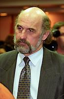 Montreal (Qc) Canada - File Photo-  April 10 2002 - Guy Bouthillier, President<br /> societe saint-Jean baptiste (SSJB)