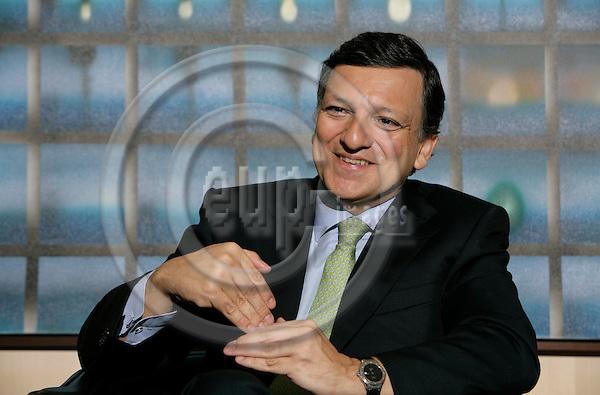 BRUSSELS - BELGIUM - 08 NOVEMBER 2006 -- Jose Manuel BARROSO, President of the EU Commission.   PHOTO: ERIK LUNTANG / EUP-IMAGES