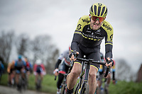 Luke Durbridge (AUS/Mitchelton-Scott) up the Oude Kwaremont<br /> <br /> 72nd Kuurne-Brussel-Kuurne 2020 (1.Pro)<br /> Kuurne to Kuurne (BEL): 201km<br /> <br /> ©kramon
