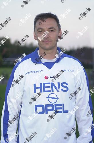 Geert Gysels , trainer Nijlen