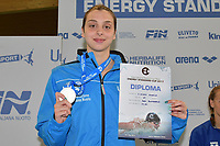 D'AFIERO Angela ITALY Silver Medal <br /> Junior Girls' 50m Butterfly <br /> Lignano Sabbiadoro 06-05-2017 Ge.Tur Complex <br /> Energy Standard Cup 2017 Nuoto<br /> Photo Andrea Staccioli/Deepbluemedia/Insidefoto
