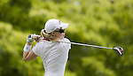 SINGAPORE - MARCH 05:  Morgan Pressel of the USA plays her tee shot on the par four 6th hole during the first round of HSBC Women's Champions at the Tanah Merah Country Club on March 5, 2009 in Singapore. Photo by Victor Fraile / The Power of Sport Images