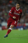 Roberto Firmino of Liverpool during the Champions League playoff round at the Anfield Stadium, Liverpool. Picture date 23rd August 2017. Picture credit should read: Lynne Cameron/Sportimage