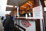 The Peterhead sausage ladies with their traditional German bratwurst.