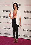 WEST HOLLYWOOD, CA - OCTOBER 12: Singer Alexx Mack arrives at Cosmopolitan Magazine's 50th Birthday Celebration at Ysabel on October 12, 2015 in West Hollywood, California.