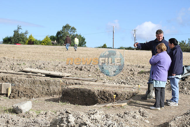 Brian Rogers, Chairperson of the Annagassan and District Historical Society at the site where archaeologists believe they have found the remains of a huge Viking fortress near the village of Annagassan in Co Louth..Picture Jenny Matthews/Newsfile.ie