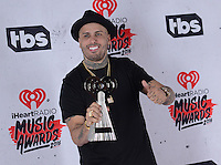 Nicky Jam @ the 2016 iHeart Radio Music awards held @ the Forum.<br /> April 3, 2016