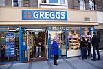 Greggs bakery shop, Felixstowe