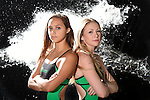 Tulane Swim & Dive Water Photoshoot - 2016