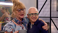 Amanda Barrie and Wayne Sleep<br /> Celebrity Big Brother 2018 - Day 8<br /> *Editorial Use Only*<br /> CAP/KFS<br /> Image supplied by Capital Pictures