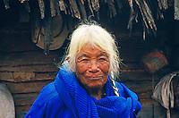 Indianerin vom Volk der Mixteken, Oaxaca, Mexiko, Nordamerika