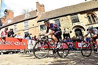 Picture by Allan McKenzie/SWpix.com - 14/05/2017 - Cycling - HSBC UK British Cycling Spring Cup Series  - Lincoln Grand Prix 2017 - JLT Condor Steve Lampier Michaelgate climb