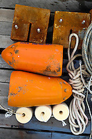 Dock Still Life, Castine, Maine, US