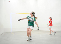 20th September 2014; Martina McMahon of Limerick in action.<br /> M Donnelly All-Ireland Ladies 60x30 Handball Singes Final. Catriona Casey (Cork) v Martina McMahon (Limerick) . Abbeylara, Co Longford.<br /> Picture credit: Tommy Grealy/actionshots.ie