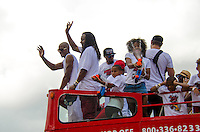 Ray Allen at Miami Heat NBA 2013 Championship parade, Biscayne Boulevard, American Airlines Arena, Miami, FL, June 24, 2013