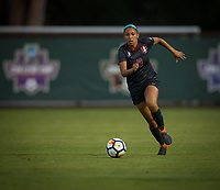 STANFORD, CA - August 10, 2018: Tegan McGrady at Laird Q. Cagan Stadium. The Stanford Cardinal defeated the Fresno State Bulldogs 4-0.
