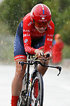 Anastassia Pliaskina (RUS) Cogeas Mettler Look Pro Cycling Team in action during Stage 1 of the Ceratizit Madrid Challenge by La Vuelta 2019 running 9.3km individual time trial around Boadilla del Monte, Spain. 14th September 2019.<br /> Picture: Luis Angel Gomez/Photogomezsport | Cyclefile<br /> <br /> All photos usage must carry mandatory copyright credit (© Cyclefile | Luis Angel Gomez/Photogomezsport)