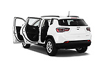 Car images close up view of a 2017 Jeep Compass Sport 2wd 5 Door SUV doors