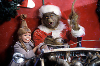 How the Grinch Stole Christmas (2000) <br /> Jim Carrey &amp; Taylor Momsen<br /> *Filmstill - Editorial Use Only*<br /> CAP/KFS<br /> Image supplied by Capital Pictures