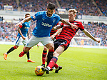 07.04.2018: Rangers v Dundee:<br /> Kevin Holt and Daniel Candeias